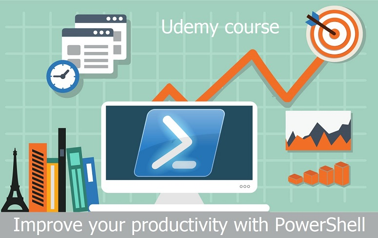 Udemy course: Improve your productivity with PowerShell